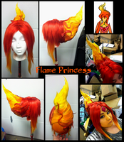 Flame Princess Wig by Phantom-Shadow
