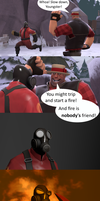Cold Day In Hell SFM Comic Remake Thing by CR33PAH