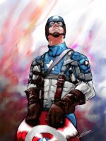Captain America by rhuvenciyo
