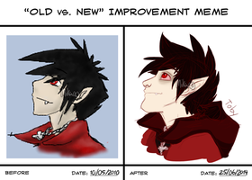 Old Vs New Improvment Meme 9 by Mikaces