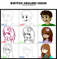 Switch It Around Meme by Pand-ASS