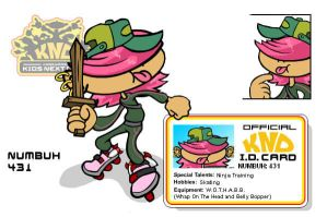KND: Numbuh 431 by faycoon