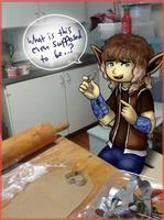 SSD: Day 7: Making gingerbread... Things? by Bulbiekins