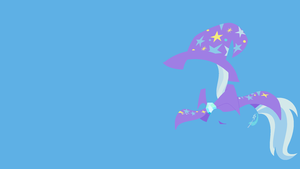 Trixie Minimalistic Wallpaper by Kitana-Coldfire