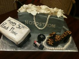 Nordstrom Shopping Bag by simplysweets