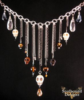 Head Hunter Necklace by SoulboundDesigns