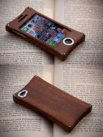 Wooden iPhone Case by back2root