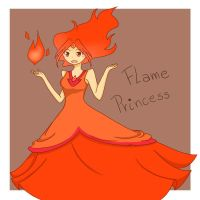 Flame Princess by ToriAke