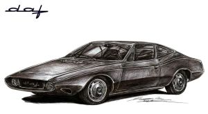 DAF Siluro Michelotti Coupe by toyonda