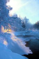 Nice winter morning by KariLiimatainen