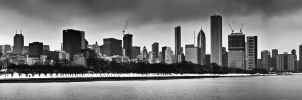 Chicago Panorama Daytime by Zeal-GJP