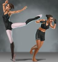 BalletBoxerStudy by ebagg