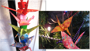Origami Ornament Examples by Elgaladwen
