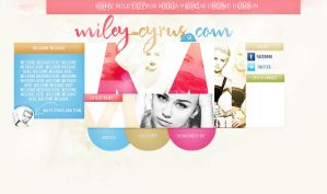 Miley Cyrus Premade by hitthelights1