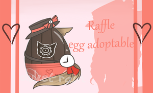 Mystery Egg Adoptable - Raffle/Giveaway [CLOSED] by DulcetRain