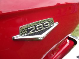 1965 Ford Mustang 289 Badge by JS92