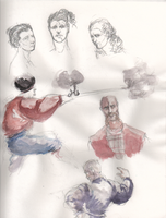 Cossack sketches 2 by smallblackbook