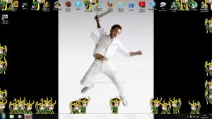 Loki has taken over my desktop by xxLondonKidxx