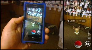 Windows Phone - POKEMON GO - Catching EEVEE by RJAce1014
