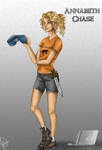 Annabeth Chase by juliajm15