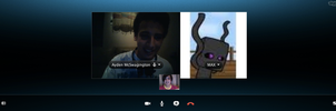 Skyping with My Friends ! by RandomWorld123