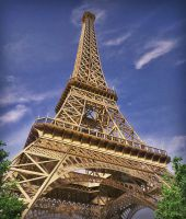 Eiffel Tower by RegusMartin