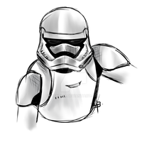Stormtrooper by Aentha