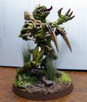 40K Tyranid Broodlord by LadyTygress