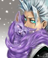 Bleach. Hitsugaya and Shinso 2 by jen-and-kris