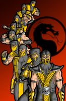 Scorpion Family by Ronniesolano