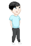 Phil Lester Pixel Doll by Farbeneath