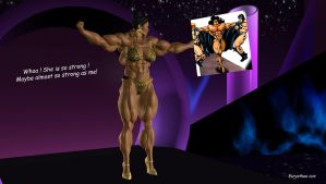 Phenomenal muscled woman's show 03 by eurysthee