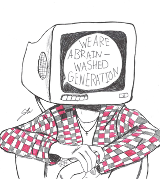 We Are A BrainWashed Generation by SilverArt100