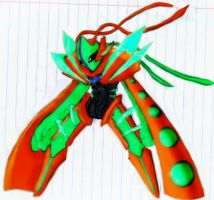 deoxys galaxy form color in by leonken1