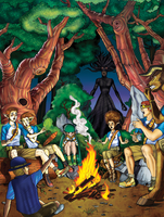 Camp Myth Cover of Campfire Tales by SarahPerryman
