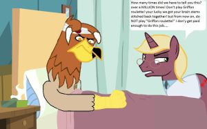 Don't play Griffon Roulette! by streetsweep237