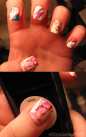aladdin sane nails by xtheungodx