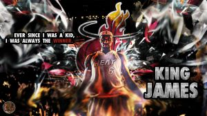 Lebron fish eye by PJosull