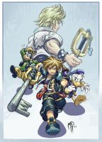 Kingdom Hearts by MarcelPerez