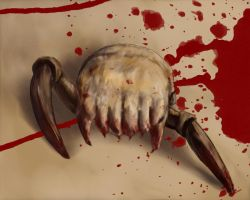 Bloody Headcrab by darcival