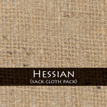 Hessian Sack cloth by stockphoties