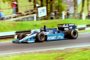 Jacques Laffite (Great Britain Tyre Test 1986) by F1-history