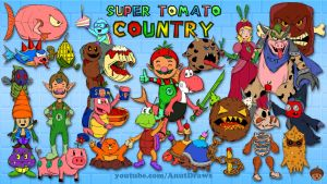 Super Tomato Country by AnutDraws