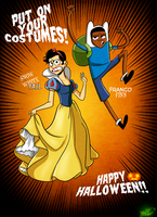 Put On Your Costumes by chillyfranco