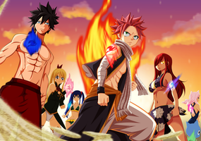 Fairy Tail 446 - We still have the Fairies ! by IchigoVizard96