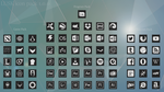 LUSK Icon Pack by WyzzyMoon