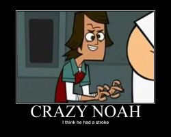 Total Drama Crazy Noah by AbominationOfTime