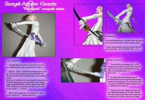 Bleach Maquettes 3 -- Szayel by Linake
