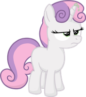 Sweetie Belle - Are you kidding me? by moemneop