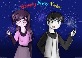 Contest~ New Year by foxxy00candy
